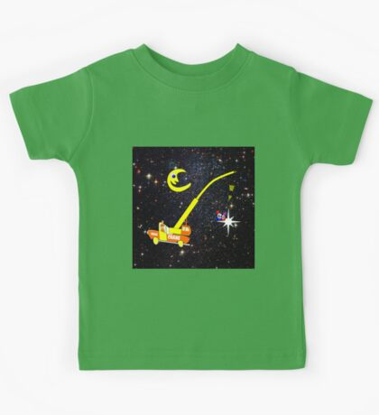 When You Wish Sat On a Star - pillow & tote design, etc Kids Tee