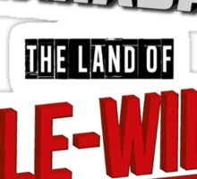 The Land Of MAPLE-WILSON Sticker