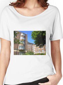 London Deco: Hamilton Court 3 Women's Relaxed Fit T-Shirt