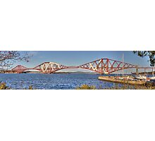 Rail Bridge and Harbour Photographic Print