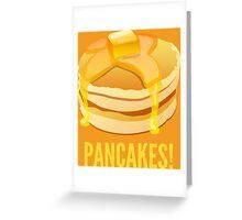 Pancakes! Greeting Card