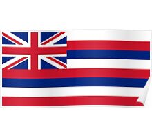 State Flags of the United States of America -  Hawaii Poster