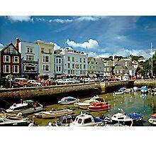 Dartmouth Harbour, Devon, England. 1990s. Photographic Print
