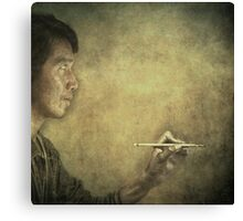 """The Portraitor"" Canvas Print"