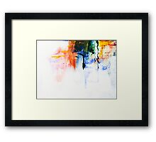 The Sum of 4...Rebirth Framed Print