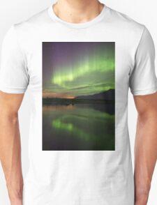 Aurora Borealis Reflections Unisex T-Shirt