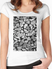 HEIMAT LIEBE Women's Fitted Scoop T-Shirt