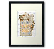 A Sparkling Merry Christmas Framed Print