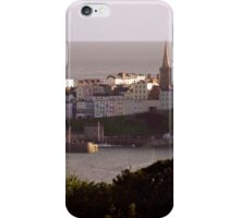 Overlooking Tenby Harbour iPhone Case/Skin