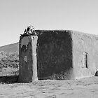 Abiquiu Church - New Mexico by Lisa Blair