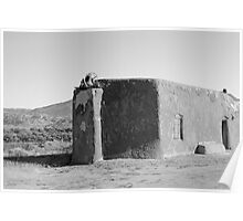 Abiquiu Church - New Mexico Poster
