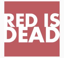 Red is Dead One Piece - Short Sleeve