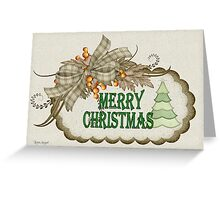 A Merry Christmas Greeting Card