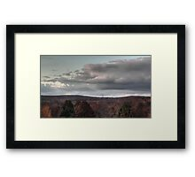 Bathed in Fading Sunlight Framed Print