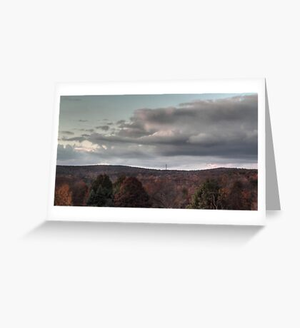 Bathed in Fading Sunlight Greeting Card