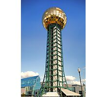 Knoxville Sunsphere  Photographic Print