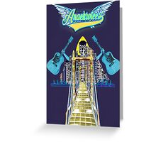 Detroit Rock City ~ Anachrotees' Design Greeting Card