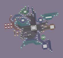 circuit board Kids Tee