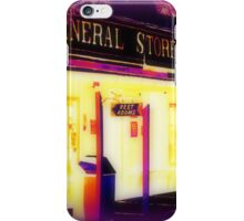 Heat Maps Effect and fireside at Wild West City iPhone Case/Skin