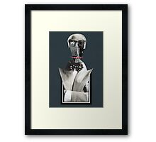 A true gentleman, smile, bow tie Framed Print