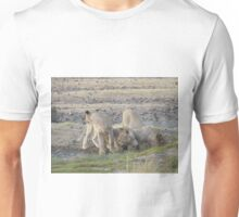 Orphan Lions in South Africa's Black Rhino Reserve Unisex T-Shirt