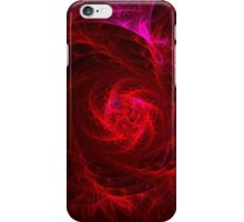 Spiral In - Purple to Red iPhone Case/Skin