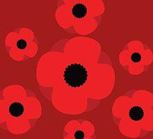 Poppy (Red) by xKireiDesigns