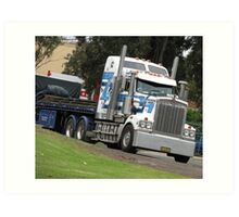 Ross Transport- Sydney,AU Art Print