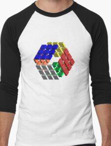 Hex Rubik's Men's Baseball ¾ T-Shirt