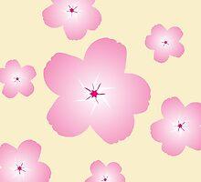 Cherry Blossom (Cream) by xKireiDesigns