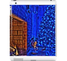 HDR - Fireplace and Christmas Tree iPad Case/Skin
