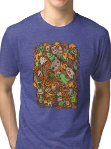 Wasted Days Tri-blend T-Shirt