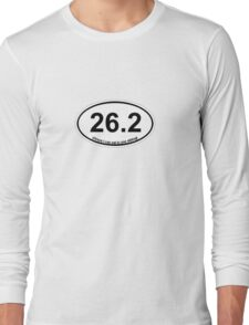 26.2 (Oreos I can eat in one sitting) Long Sleeve T-Shirt