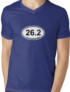 26.2 (Oreos I can eat in one sitting) Mens V-Neck T-Shirt