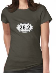 26.2 (Oreos I can eat in one sitting) Womens Fitted T-Shirt