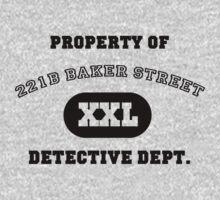 Property of 221B Baker Street - Detective Dept. by ScottW93