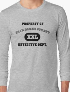 Property of 221B Baker Street - Detective Dept. Long Sleeve T-Shirt