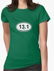 13.1 My longest Netflix binge Womens Fitted T-Shirt