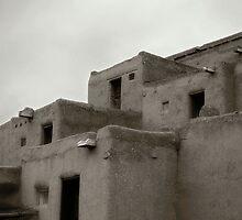 Taos Pueblo, North - New Mexico by Lisa Blair