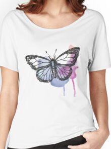 Watercolour Butterfly Women's Relaxed Fit T-Shirt