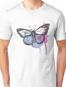 Watercolour Butterfly Unisex T-Shirt