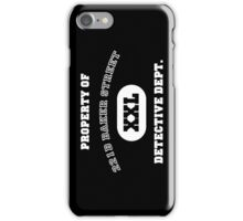 Property of 221B Baker Street - Detective Dept. iPhone Case/Skin