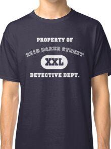 Property of 221B Baker Street - Detective Dept. Classic T-Shirt