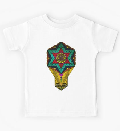 Sacred Geometry for your daily life Kids Tee