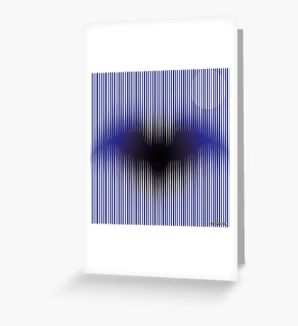 Mystic Flying Bat Greeting Card