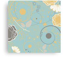 Cute Floral Canvas Print