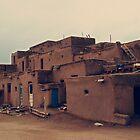 Taos Pueblo - New Mexico by Lisa Blair