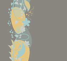 Cute Floral by AbstractCreatur