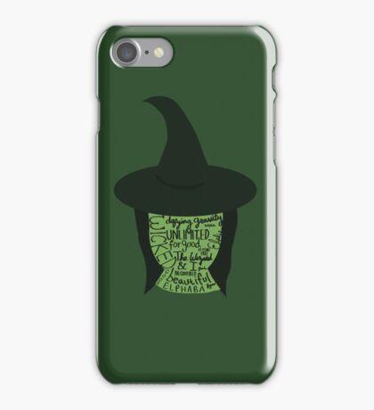 Wicked - Elphaba iPhone Case/Skin
