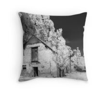 Surrounded by Poplars Throw Pillow